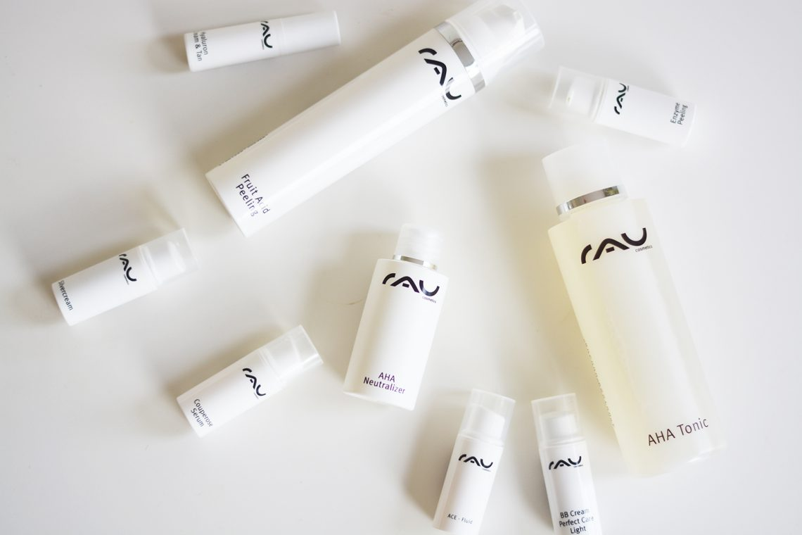 RAU Cosmetics: AHA Tonic & Fruit Acid Peeling