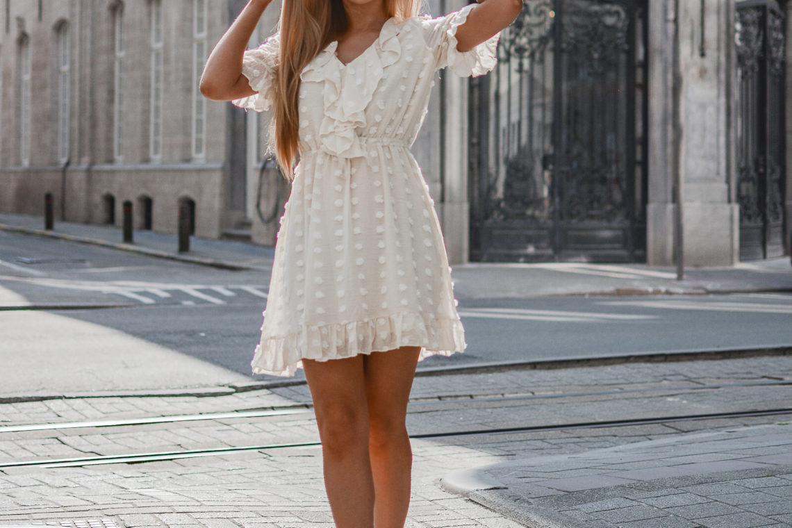 Outfit: Cream Dress