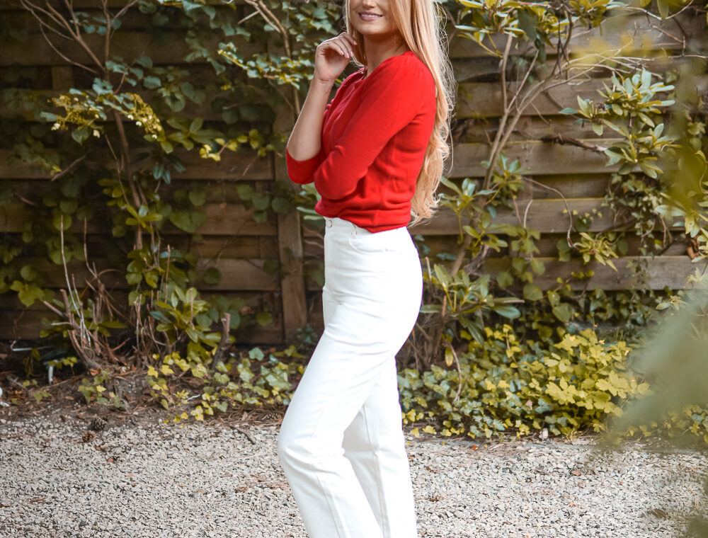 Outfit: Rood en Wit